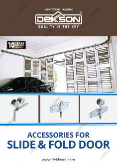 Acessories for Slide & Fold Door